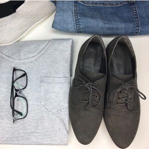 Forever 21 Suede Oxford Shoes